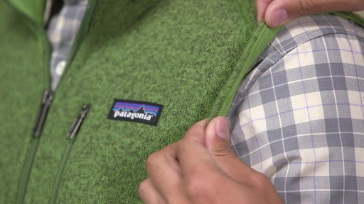 Patagonia Mens Better Sweater Vest - image 9 from the video