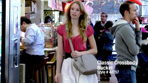Travelon Anti-Theft Classic Crossbody Bucket Bag - eBags.com - image 1 from the video