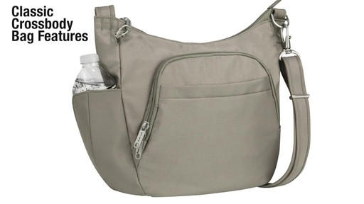 Travelon Anti-Theft Classic Crossbody Bucket Bag - eBags.com - image 2 from the video