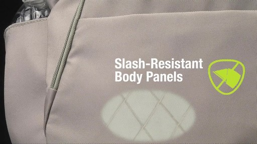 Travelon Anti-Theft Classic Crossbody Bucket Bag - eBags.com - image 3 from the video