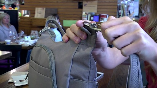 Travelon Anti-Theft Classic Crossbody Bucket Bag - eBags.com - image 8 from the video