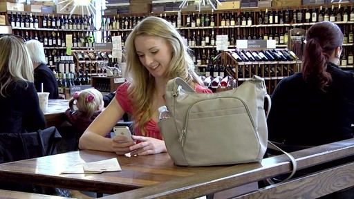 Travelon Anti-Theft Classic Crossbody Bucket Bag - eBags.com - image 9 from the video