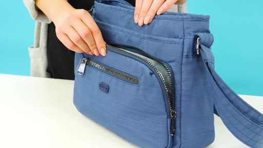 Lug Shimmy RFID Crossbody - image 6 from the video