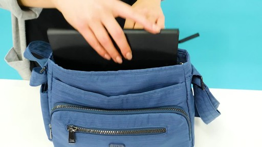 Lug Shimmy RFID Crossbody - image 7 from the video