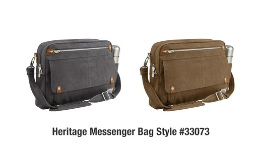 Travelon Anti-Theft Heritage Messenger Bag - eBags.com - image 10 from the video