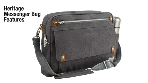 Travelon Anti-Theft Heritage Messenger Bag - eBags.com - image 2 from the video