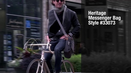 Travelon Anti-Theft Heritage Messenger Bag - eBags.com - image 9 from the video