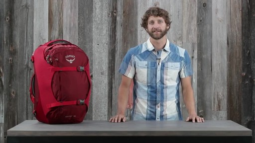 Osprey Porter Travel Backpack Series - image 1 from the video