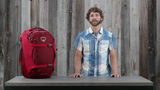 Osprey Porter Travel Backpack Series - image 10 from the video