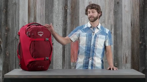 Osprey Porter Travel Backpack Series - image 2 from the video