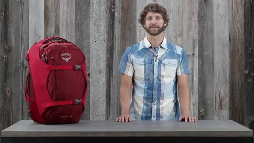 Osprey Porter Travel Backpack Series - image 4 from the video