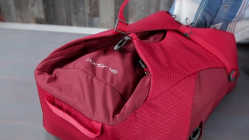 Osprey Porter Travel Backpack Series - image 6 from the video