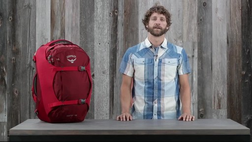 Osprey Porter Travel Backpack Series - image 9 from the video