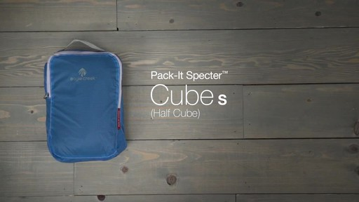 Eagle Creek Pack-It Specter Half Cube - image 10 from the video