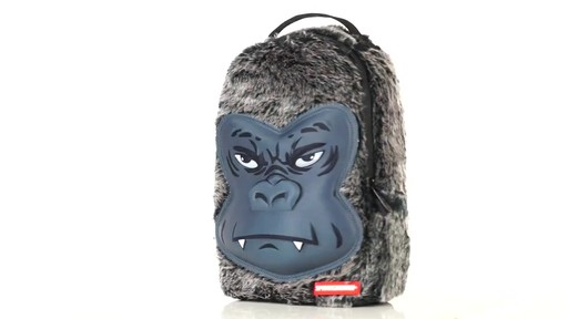Sprayground Lil Gorilla Backpack - Shop eBags.com - image 5 from the video