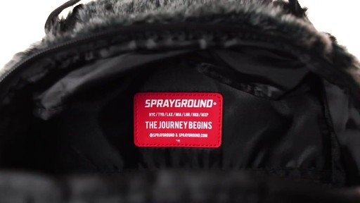 Sprayground Lil Gorilla Backpack - Shop eBags.com - image 9 from the video