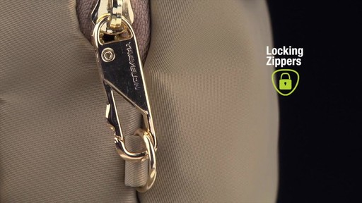 Travelon Anti-Theft Tailored Crossbody Phone Pouch - image 6 from the video