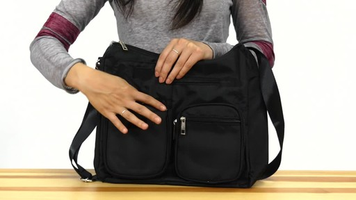Suvelle Carryall RFID Travel Everyday Shoulder Bag - image 4 from the video