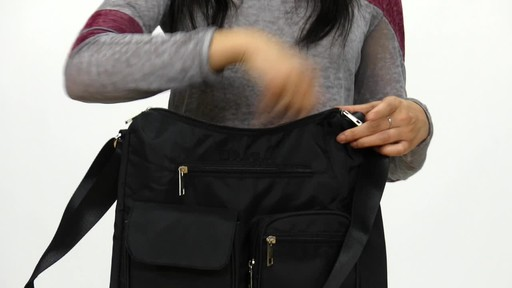 Suvelle Carryall RFID Travel Everyday Shoulder Bag - image 6 from the video