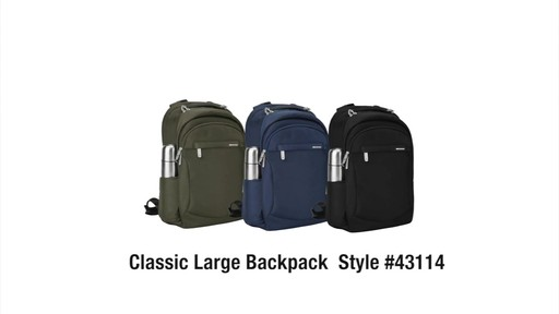 Travelon Anti-Theft Classic Large Backpack - Shop eBags.com - image 10 from the video