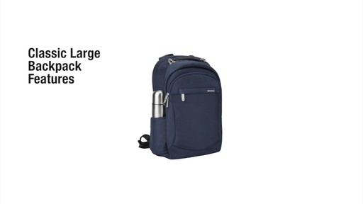 Travelon Anti-Theft Classic Large Backpack - Shop eBags.com - image 2 from the video