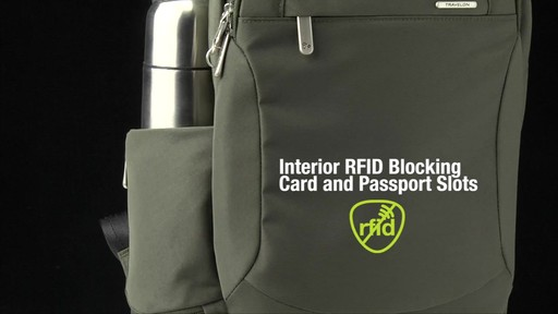Travelon Anti-Theft Classic Large Backpack - Shop eBags.com - image 8 from the video