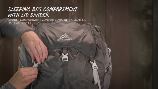 Gregory Maven Hiking Backpacks - image 10 from the video