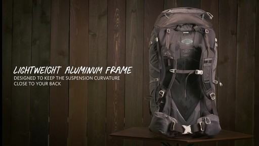 Gregory Maven Hiking Backpacks - image 2 from the video