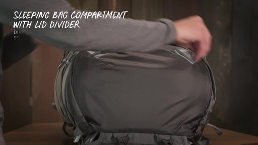 Gregory Maven Hiking Backpacks - image 9 from the video