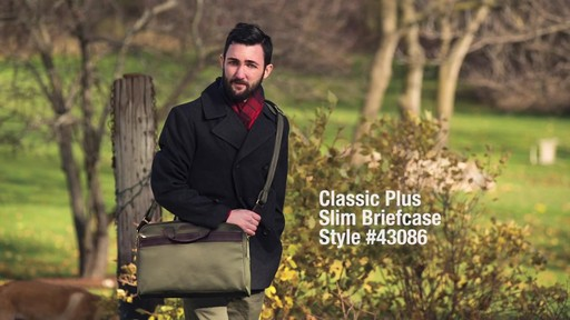 Travelon Anti-Theft Classic Plus Slim Briefcase - Shop eBags.com - image 1 from the video