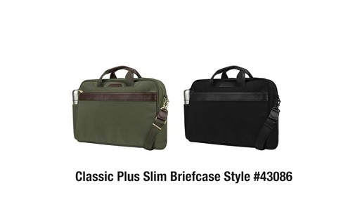 Travelon Anti-Theft Classic Plus Slim Briefcase - Shop eBags.com - image 10 from the video