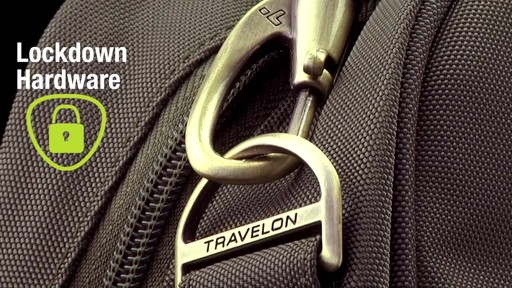Travelon Anti-Theft Classic Plus Slim Briefcase - Shop eBags.com - image 6 from the video