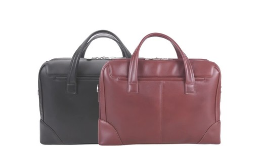 McKlein USA Harpswell Structured Briefcase - image 10 from the video