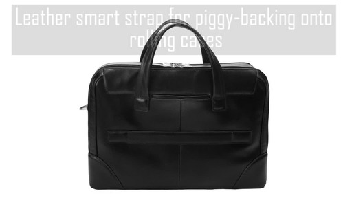McKlein USA Harpswell Structured Briefcase - image 4 from the video