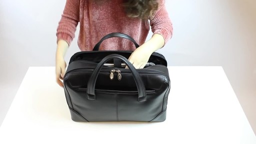 McKlein USA Harpswell Structured Briefcase - image 9 from the video