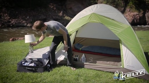 Kelty Yellowstone 6 Tent - image 4 from the video & Kelty Yellowstone 6 Tent » eBags Video