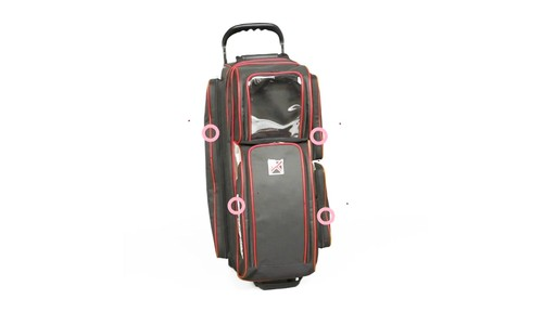 KR Strikeforce Bowling LR3 Triple Roller Bag  - eBags.com - image 4 from the video