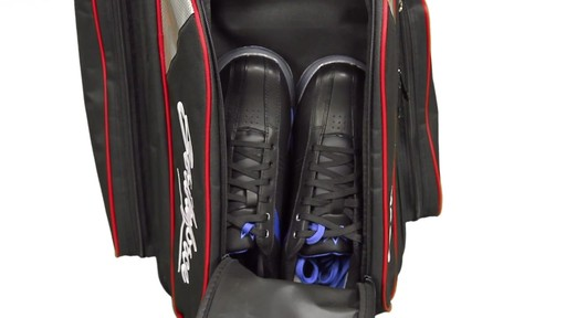 KR Strikeforce Bowling LR3 Triple Roller Bag  - eBags.com - image 5 from the video
