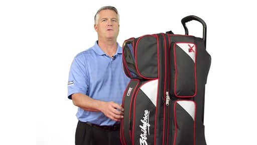 KR Strikeforce Bowling LR3 Triple Roller Bag  - eBags.com - image 9 from the video