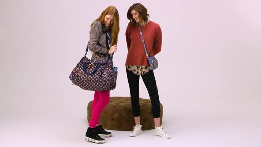 Vera Bradley Lighten Up Ultimate Gym Bag - image 1 from the video