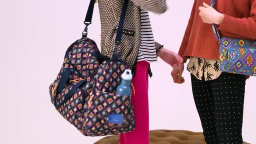 Vera Bradley Lighten Up Ultimate Gym Bag - image 10 from the video