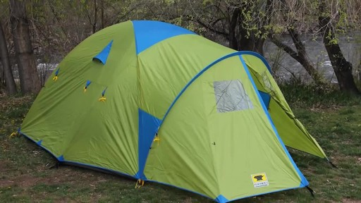 Mountainsmith Conifer 5 Person 3 Season Tent - image 4 from the video & Mountainsmith Conifer 5+ Person 3 Season Tent » eBags Video