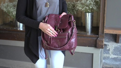 f1b129af2 The Sak - Mariposa Convertible Backpack - image 4 from the video