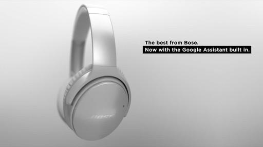 Bose QuietComfort® 35 Wireless Headphones II - image 2 from the video