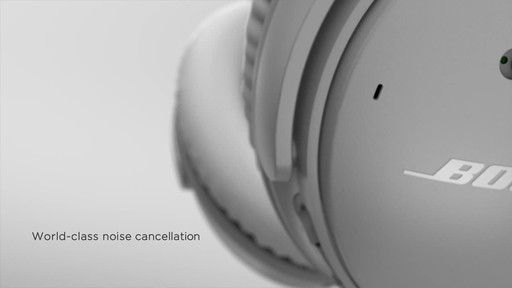 Bose QuietComfort® 35 Wireless Headphones II - image 3 from the video