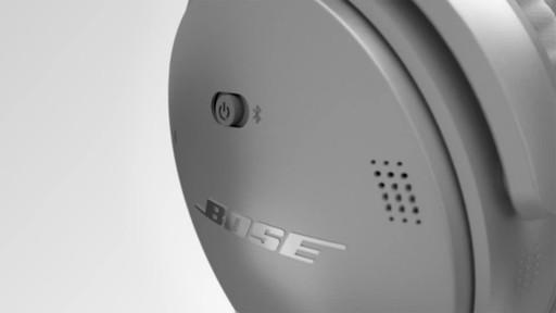 Bose QuietComfort® 35 Wireless Headphones II - image 5 from the video