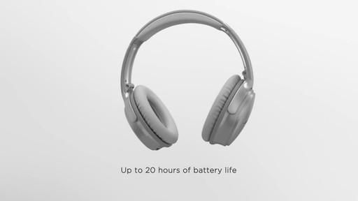 Bose QuietComfort® 35 Wireless Headphones II - image 7 from the video