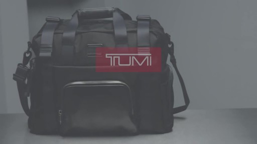Tumi Alpha Bravo Buckley Duffel - image 10 from the video