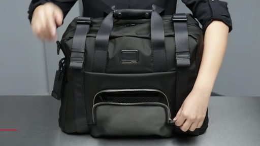 Tumi Alpha Bravo Buckley Duffel - image 3 from the video