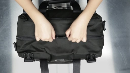 Tumi Alpha Bravo Buckley Duffel - image 6 from the video